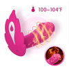 Adorime Wearable Heating Stimulation Dildo Vibrator